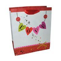 """Пакет бумажный подарочный """"Love"""" (28х34х9 см; арт. XD-2385-3)"""