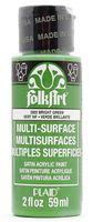 """Краска акриловая """"FolkArt Multi-Surface"""" (светло-зеленая; 59 мл; арт. PLD-02950)"""