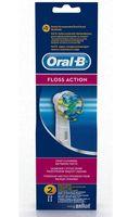 """Насадка для электрической зубной щетки """"Oral-B Floss Action EB25"""" (2 шт.)"""