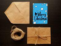 "Открытка ""Merry Christmas"" (art. 27)"