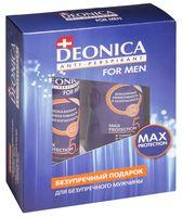 """Подарочный набор """"Deonica for Men 5 Protection"""" (гель, антиперспирант)"""