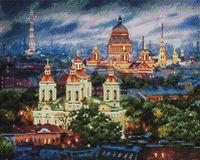 "Алмазная вышивка-мозаика ""Санкт-Петербург. Все краски вечера"" (400х500 мм)"