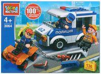 """Конструктор """"Полиция. Побег из полицейской машины"""" (136 деталей)"""