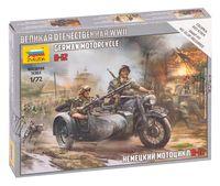 """Набор миниатюр """"Немецкий мотоцикл R-12"""" (масштаб: 1/72)"""