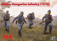 """Набор миниатюр """"Пехота Австро-Венгрии 1914г."""" (масштаб: 1/35)"""