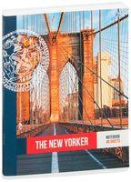 """Тетрадь полуобщая в клетку """"New Yorker"""" (48 листов; в ассортименте)"""