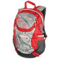 Рюкзак П1586 (15 л; красно-серый)