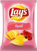 """Чипсы картофельные """"Lay's. Краб"""" (80 г)"""