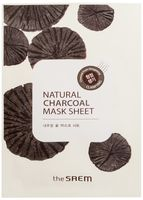 """Тканевая маска для лица """"С древесным углем"""" (21 мл)"""