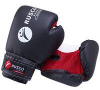 Перчатки боксёрские детские (4 унции; черные)