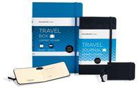 """Подарочный набор Молескин """"Passion"""" Travel (большой; твердая черная обложка)"""