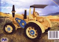 """Сборная деревянная модель Трактор """"Ланц Бульдог"""""""