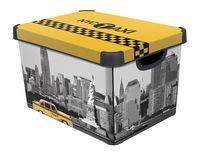 """Коробка для хранения """"Taxi NY"""" (39,5х29,5х25 см)"""
