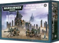 Warhammer 40.000. Astra Militarum. Cadian Heavy Weapon Squad (47-19)