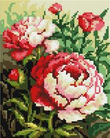 "Алмазная вышивка-мозаика ""Цветущий куст"" (200х250 мм)"