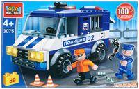 """Конструктор """"Полиция. Побег из полицейской машины"""" (89 деталей)"""