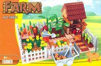 """Конструктор """"Ферма. Огород"""" (263 детали)"""