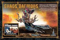 "Набор миниатюр ""Warhammer. Chaos Daemons Herald of Tzeentch on Burning Chariot"""