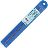Крючок для вязания (желтый; металл; 2.0 мм)