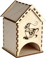 """Заготовка деревянная """"Чайный домик. Кофейная чашка"""""""