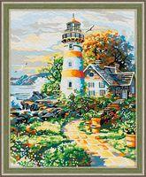 "Картина по номерам ""Старый маяк"" (400х500 мм)"