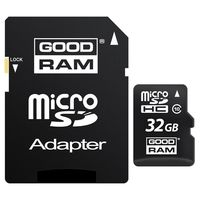 Карта памяти SDHC-micro Card 32GB Goodram M1AA-0320R11 Class 10 UHS-I + SD Adapter