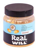 """Паста арахисовая """"Real Will. С кокосом"""" (500 г)"""
