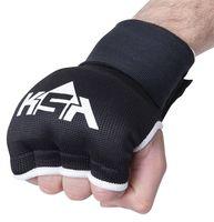 """Перчатки внутренние для бокса """"Bull Gel"""" (M; черные)"""