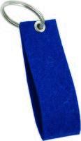 Брелок войлочный (синий)
