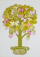 "Вышивка крестом ""Дерево счастья"" (210х300 мм)"