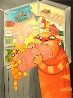 """Магнит сувенирный """"Картины Васи Ложкина"""" (арт. 1742)"""