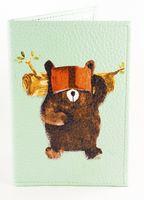 "Обложка на паспорт ""Мишка"""