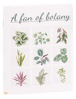 """Тетрадь полуобщая в клетку """"A Fan of Botany"""" (48 листов)"""