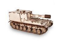 """Сборная деревянная модель """"Танк САУ-212"""""""