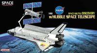 "Космический корабль ""Space Shuttle Discovery w & Hubble Space Telescope"" (масштаб: 1/400)"