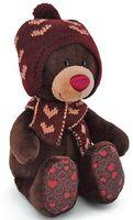 """Мягкая игрушка """"Медведь Choco. Зима"""" (20 см)"""