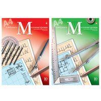 Бумага миллиметровая в папке (А4; 10 листов)