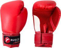 Перчатки боксёрские детские (4 унции; красные)