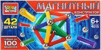 """Конструктор магнитный """"Палочки и шарики"""" (42 детали; арт. DT-4015-R)"""