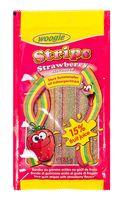 """Мармелад """"Woogie. Strawberry Strips"""" (85 г)"""