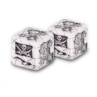 """Набор кубиков D6 """"Пираты"""" (D6, 22 мм, 2 шт)"""