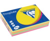 "Бумага ""Trophee. Fluo"" (А4; 100 листов; 80 г/м2; 4 цвета)"