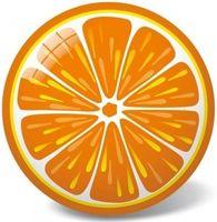 """Мяч """"Апельсин"""" (23 см)"""