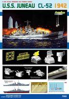 "Легкий крейсер ""U.S.S. Juneau CL-52 1942"" (масштаб: 1/700)"