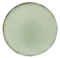 "Тарелка фарфоровая ""Pearl Mood"" (240 мм; зеленая)"