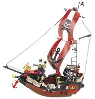 """Конструктор """"Пираты. Пиратский корабль"""" (379 деталей)"""