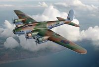 """Бомбардировщик """"B-17 Mk.I Fortress"""" (масштаб: 1/72)"""