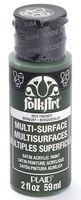 """Краска акриловая """"FolkArt Multi-Surface"""" (чаща; 59 мл; арт. PLD-02918)"""