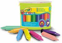 """Мелки восковые """"Crayola. Для малышей"""" (24 цвета)"""