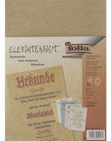 Бумага с имитацией пергамента (светло-коричневая; А4; 10 листов)